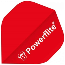 Powerflite Flights - Rød - 6-pack