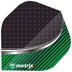 Metrixx Flights standard 2, Grøn/sort