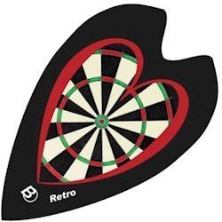 Retro Flights - Love Darts