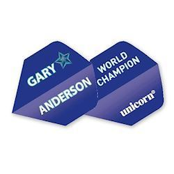 Unicorn Authentic Gary Anderson Blå Flights